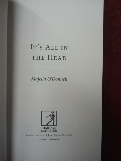 Majella Odonnell - It's All in the Head - Click Image to Close