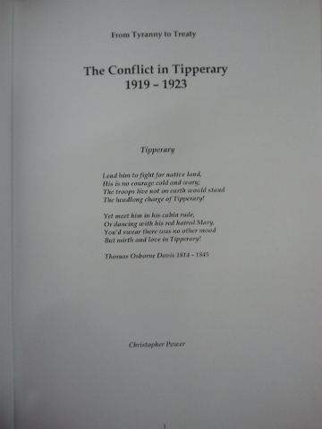 The Conflict in Tipperary