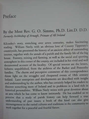 Kilcooley: Land and People in Tipperary.